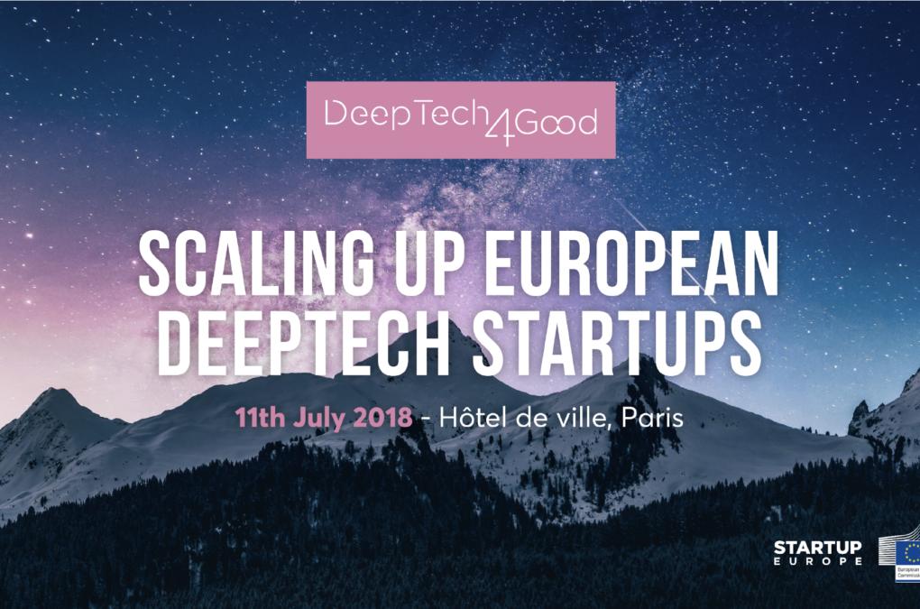 Mademoiselle Associée - DeepTech4good – 2018
