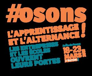 Mademoiselle Associée - Logo #osons l'apprentissage et l'alternance! - Édition 2019